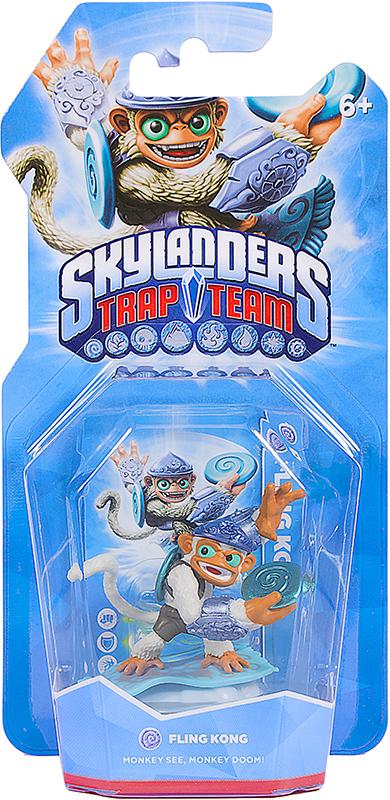 Skylanders Trap Team. Интерактивная фигурка Fling Kong (стихия Air)