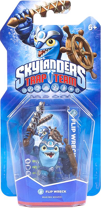 Skylanders Trap Team. Интерактивная фигурка Flip Wreck (стихия Water)