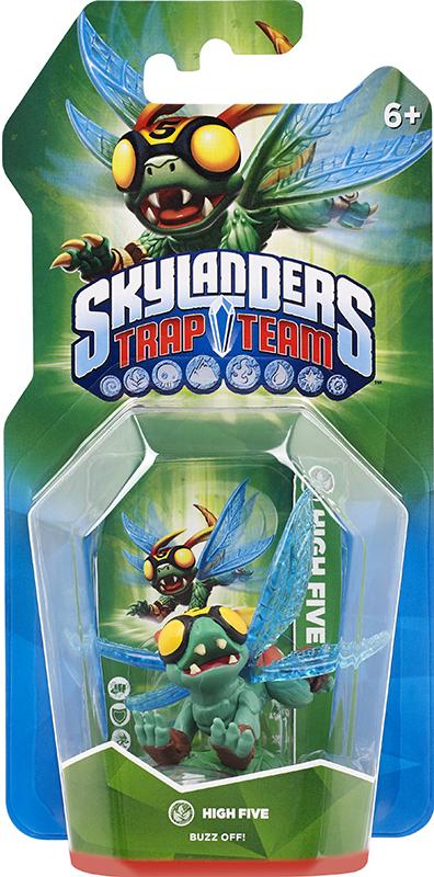 Skylanders Trap Team. Интерактивная фигурка High Five (стихия Life)