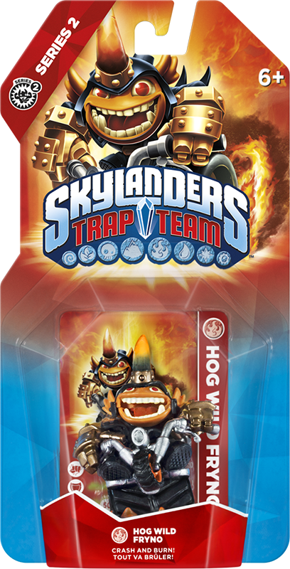 Skylanders Trap Team. Интерактивная фигурка Hog Wild Fryno (стихия Fire)