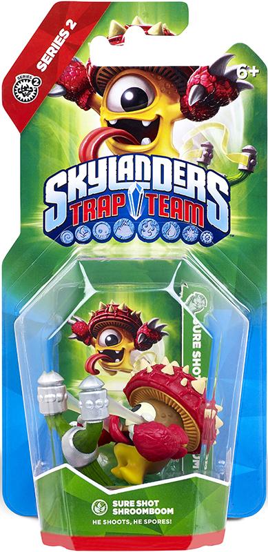 Skylanders Trap Team. Интерактивная фигурка Shroomboom (стихия Life) фильтр для воды аквафор кувшин престиж красный