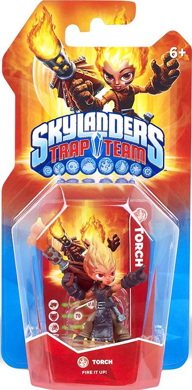 Skylanders Trap Team. Интерактивная фигурка Torch (стихия Fire) activision skylanders trap team knight mare