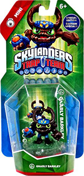 Skylanders Trap Team Мини. Интерактивная фигурка Gnarley Barkley (стихия Life) activision skylanders trap team knight mare