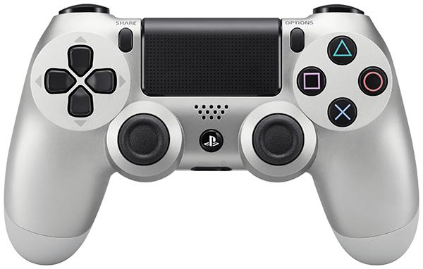 Беспроводной контроллер Dualshock 4 (серебристый)Беспроводной контроллер Dualshock 4 – контроллер нового поколения для новой эры видеоигр, который представляет собой большой шаг вперед в развитии игровых устройств управления.<br>
