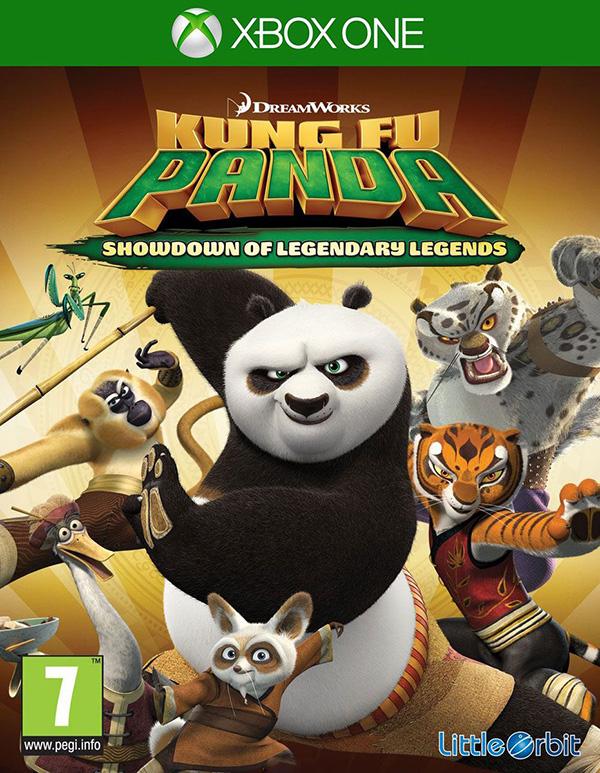 Кунг-Фу Панда: Решающий Поединок Легендарных Героев [Xbox One]