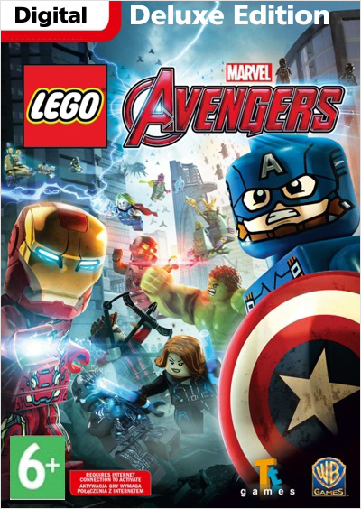 LEGO Marvel Мстители (Avengers). Deluxe Edition (Цифровая версия) pgi 425 cli 426 ink cartridge for canon pgi425 cli425 pixma ip4840 ip4940 mg5240 mg5340 mg5140 mx714 mx884 mx894 ix6540
