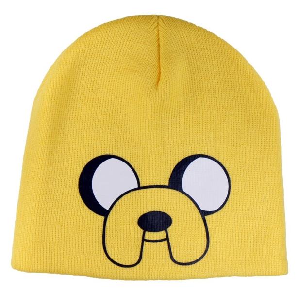 Шапка Adventure Time. JakeПредставляем вашему вниманию шапку Adventure Time. Jake, созданную по мотивам одного из самых популярных мультсериалов Adventure Time (Время Приключений с Финном и Джейком).<br>