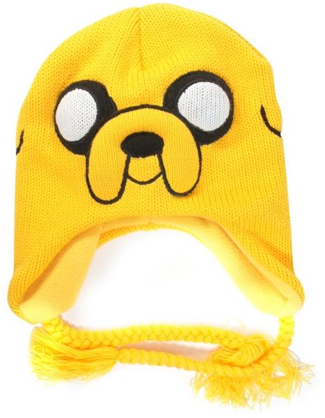 Шапка Adventure Time. Jake с завязками