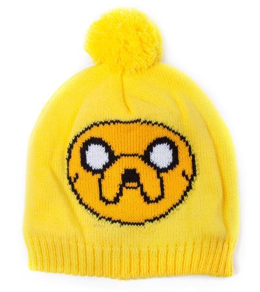 Шапка Adventure Time. Jake с помпономПредставляем вашему вниманию шапку Adventure Time. Jake с помпоном, созданную по мотивам одного из самых популярных мультсериалов Adventure Time (Время Приключений с Финном и Джейком).<br>