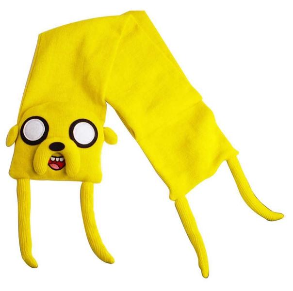 Шарф Adventure Time. Jake Knitted VersionПредставляем вашему вниманию шарф Adventure Time. Jake Knitted Version, созданный по мотивам одного из самых популярных мультсериалов Adventure Time (Время Приключений с Финном и Джейком).<br>
