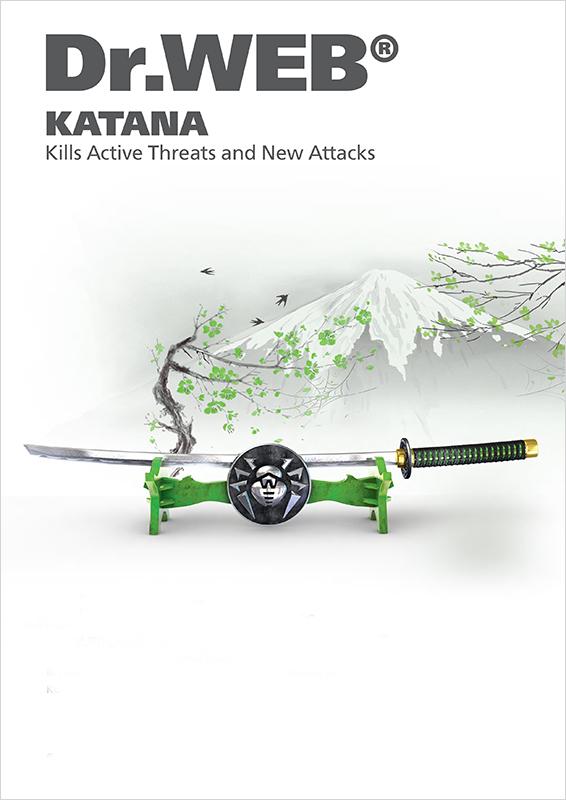 Dr.Web Katana (продление для 2 ПК на 1 год) [Цифровая версия] (Цифровая версия)