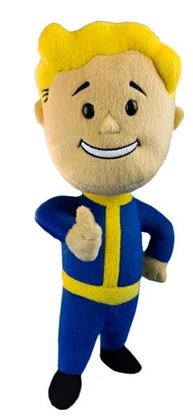 Мягкая игрушка Fallout. Vault Boy 101 (28 см)Представляем вашему вниманию мягкую игрушку Fallout. Vault Boy 101, созданную по мотивам компьютерной игры Fallout.<br>