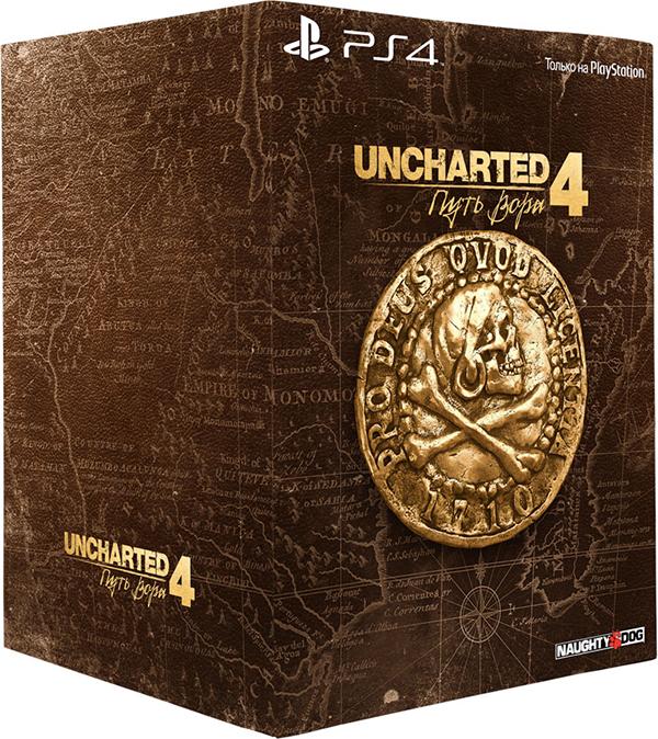 Uncharted 4: Путь вора (A Thief's End Libertalia). Коллекционное издание «Либерталия» [PS4]