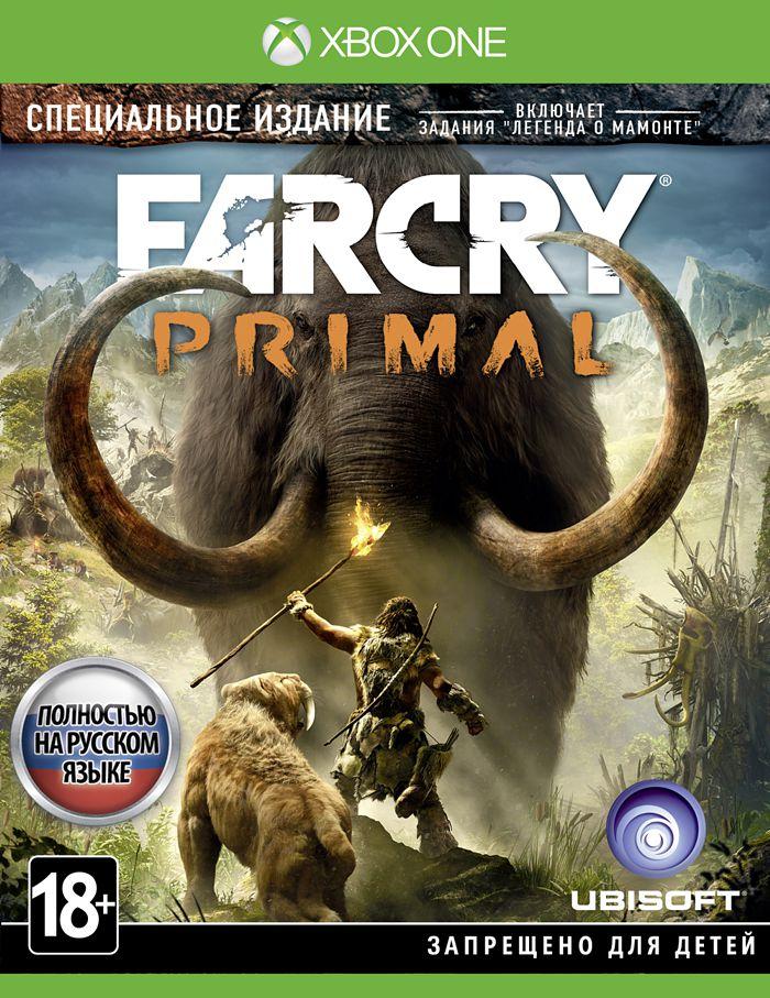 Far Cry Primal. Специальное Издание [Xbox One]В игре Far Cry Primal вы окажетесь в каменном веке, а значит – в смертельной опасности. Земля безраздельно принадлежит мамонтам и саблезубым тиграм, а человек находится где-то в начале пищевой цепи. Вы последний выживший из группы охотников.<br>