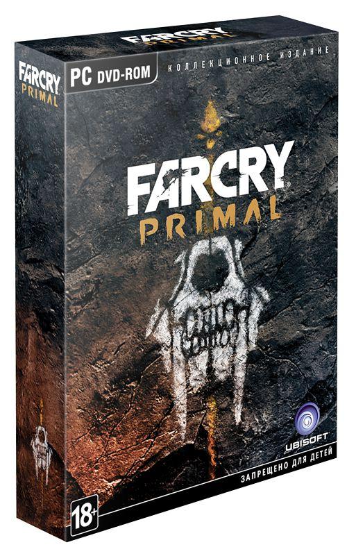 Far Cry Primal. Коллекционное Издание [PC]В игре Far Cry Primal вы окажетесь в каменном веке, а значит – в смертельной опасности. Земля безраздельно принадлежит мамонтам и саблезубым тиграм, а человек находится где-то в начале пищевой цепи. Вы последний выживший из группы охотников.<br>