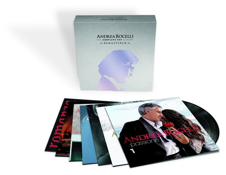Andrea Bocelli. The Complete POP Albums. Remastered (14 LP) roxy music roxy music the complete studio albums 8 lp box