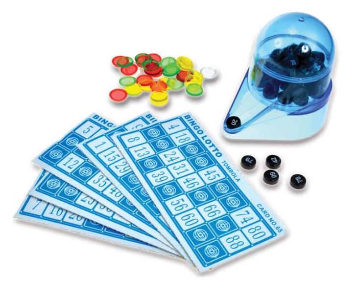 Настольная игра БингоПредставляем вашему вниманию настольную игру Бинго, логическую настольную игру, более известную как «Лото».<br>