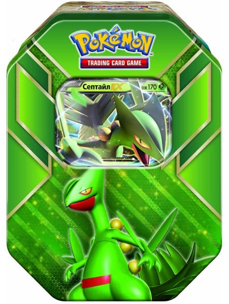 Коллекционный набор Pokemon. СептайлВаша колода станет куда сильнее благодаря коллекционному набору Pokemon. Септайл, вобравшему в себя всю мощь региона Хоэнн!<br>