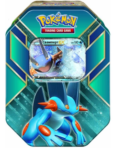 Коллекционный набор Pokemon. СвампертВаша колода станет куда сильнее благодаря коллекционному набору Pokemon. Свамперт, вобравшему в себя всю мощь региона Хоэнн!<br>