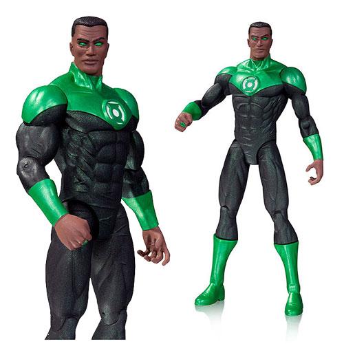 Фигурка Dc Comics: Green Lantern John Stewart (17 см)Представляем вашему вниманию фигурку Dc Comics. Green Lantern John Stewart, созданную по мотивам популярных комиксов.<br>