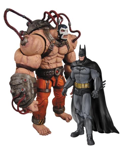 Набор фигурок Batman Arkham City. Batman Vs Bane. 2 в 1 (25 см)Представляем вашему вниманию набор фигурок Batman Arkham City. Batman Vs Bane. 2 в 1, созданный по мотивам популярной видеоигры.<br>