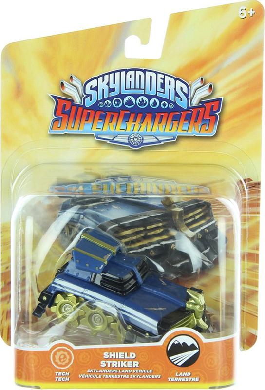 Skylanders SuperChargers. Интерактивная фигурка. Машины. Shield Striker (стихия Tech) skylanders superchargers интерактивная фигурка машины shark tank стихия earth