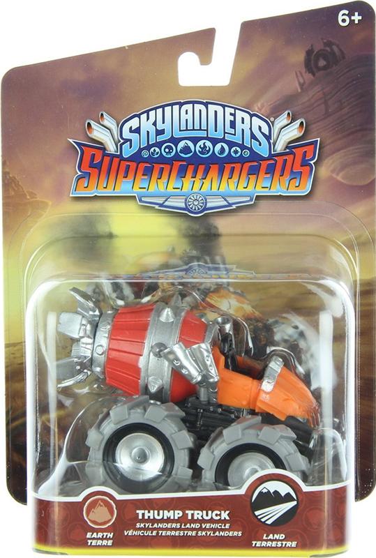 все цены на  Skylanders SuperChargers. Интерактивная фигурка. Машины. Thump Truck (стихия Earth)  онлайн