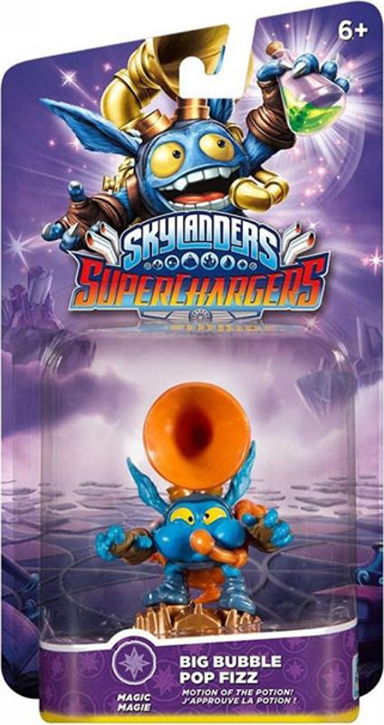 Skylanders SuperChargers. Интерактивная фигурка. Суперзаряд. Big Bubble Pop Fizz (стихия Magic) skylanders superchargers интерактивная фигурка суперзаряд big bubble pop fizz стихия magic