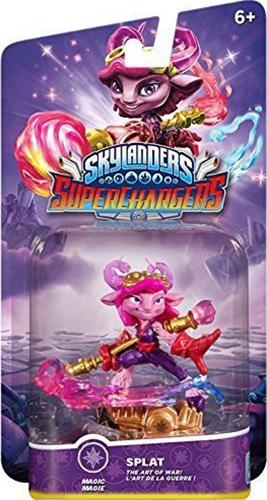 Skylanders SuperChargers. Интерактивная фигурка. Суперзаряд. Splat (стихия Magic)