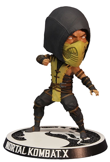 Фигурка Mortal Kombat X. Scorpion Bobblehead (15 см)Представляем вашему вниманию фигурку Mortal Kombat X. Scorpion Bobblehead, созданную по мотивам популярной мультиплатформенной компьютерной игры.<br>