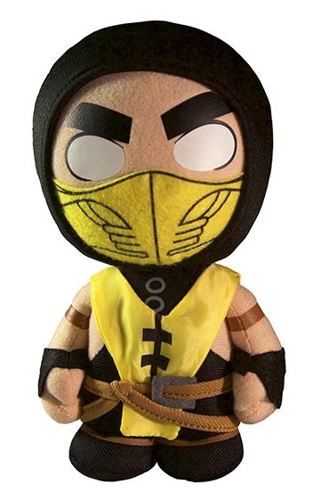 Мягкая игрушка Mortal Kombat X. Scorpion (20 см)