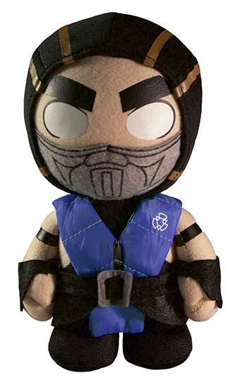 Мягкая игрушка Mortal Kombat X. Sub-Zero (20 см)