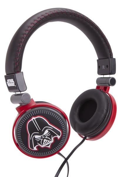 Наушники накладные Star Wars. Darth Vader накладные наушники bang