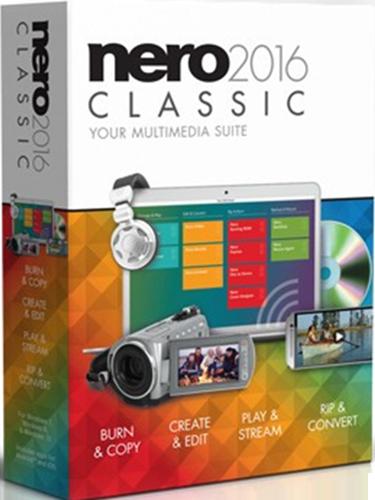 Nero 2016 Classic [Цифровая версия] (Цифровая версия)Выполняйте сложные задачи без проблем, используя Nero 2016 Classic, эффективное универсальное решение! Выполняете ли вы прожиг, копирование, создание, редактирование, воспроизведение, потоковую передачу, извлечение данных или преобразование, используете ли вы для этого компьютер, камеру или смартфон, – благодаря Nero ваши мультимедийные файлы всегда в полной безопасности.<br>