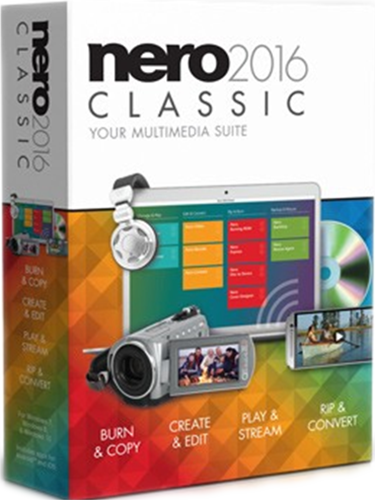 Nero 2016 Classic (Цифровая версия) nero 2017 classic