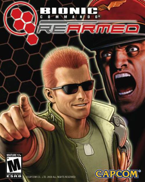 Bionic Commando Rearmed  (Цифровая версия)Классический геймплей с видом сбоку возвращается в строй вместе с Bionic Commando Rearmed, ремейком игры на NES.<br>