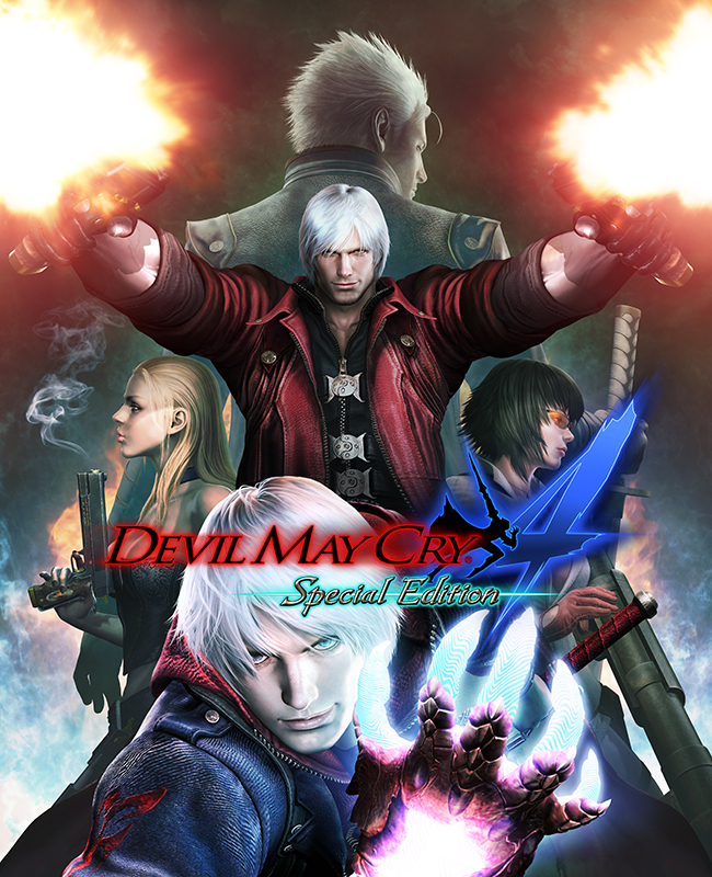 Devil May Cry 4. Special Edition (Цифровая версия) devil may cry 4 dante cosplay wig halloween party cosplay wigs free shipping