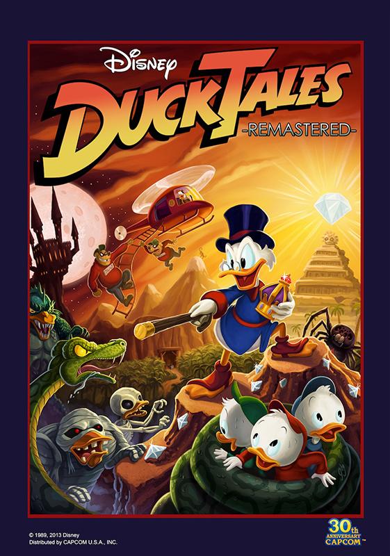 DuckTales: Remastered (Цифровая версия)DuckTales: Remastered &amp;ndash; это красочный, нарисованный вручную ремейк одной из самых милых сердцу 8-битных игр всех времен. Возвращайтесь в золотую эру видеоигр, но с таким уровнем детализации, который удовлетворит в равной мере как самых ярых поклонников диснеевских мультиков, так и фанатов ретро-игр от Capcom.<br>
