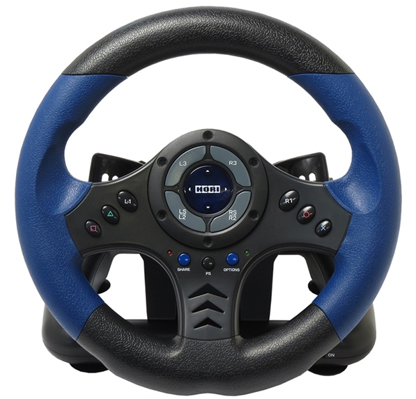 Гоночный руль Hori Racing Wheel Controller для PS4 / PS3 от 1С Интерес