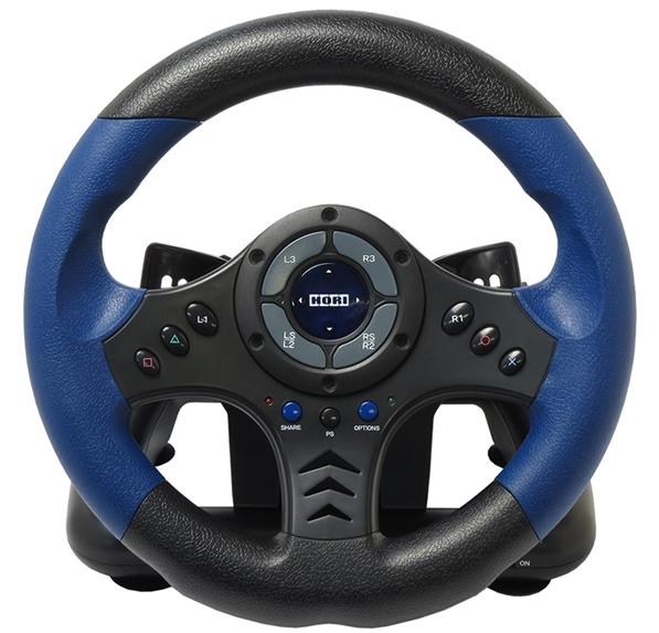 Гоночный руль Hori Racing Wheel Controller для PS4 / PS3Представляем вашему вниманию руль Hori Racing Wheel (PS4-020E), который имеет официальную лицензию Sony, что гарантирует ему идеальное качество. С рулем Hori Racing Wheel вы несомненно станете королем симуляторов.<br>