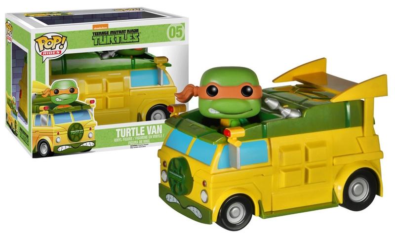 Фигурка TMNT. Turtle VanПредставляем вашему вниманию фигурку TMNT. Turtle Van, созданную по мотивам сериала «Черепашки-ниндзя».<br>