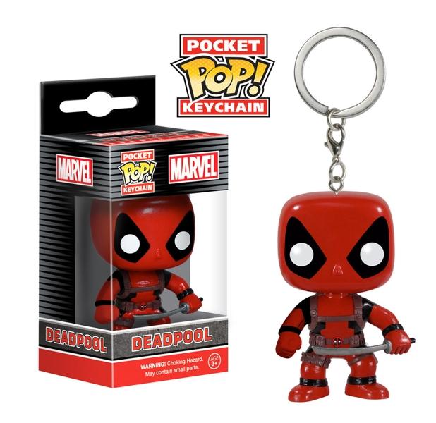 Фигурка-брелок Marvel. Deadpool POP