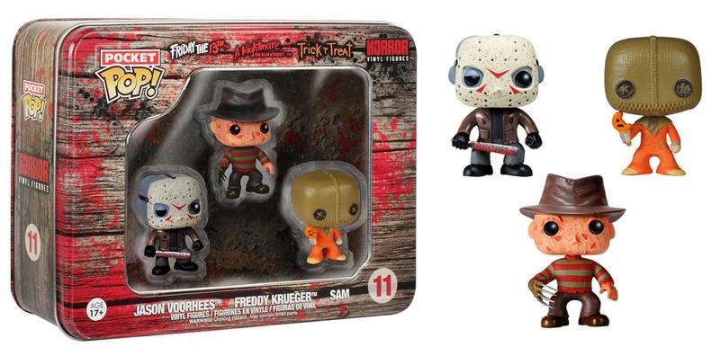 Набор фигурок Horror. Freddy, Jason, Sam. 3 в 1Представляем вашему вниманию набор фигурок Horror. Freddy, Jason, Sam, созданный по мотивам фильмов «Кошелек или жизнь», «Пятница, 13-е», «Кошмар на улице Вязов».<br>