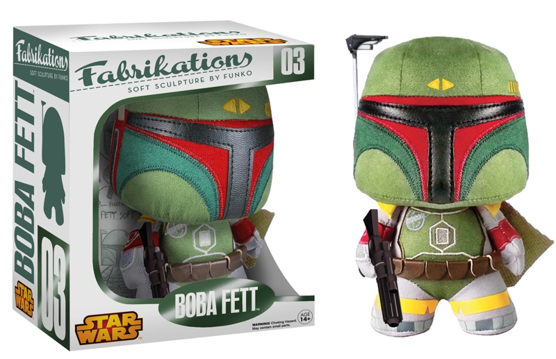 Мягкая игрушка Star Wars. Boba Fett  funko pop star wars boba fett 08 pvc action figure collectible model toy 12cm fkfg126 retail box sp050