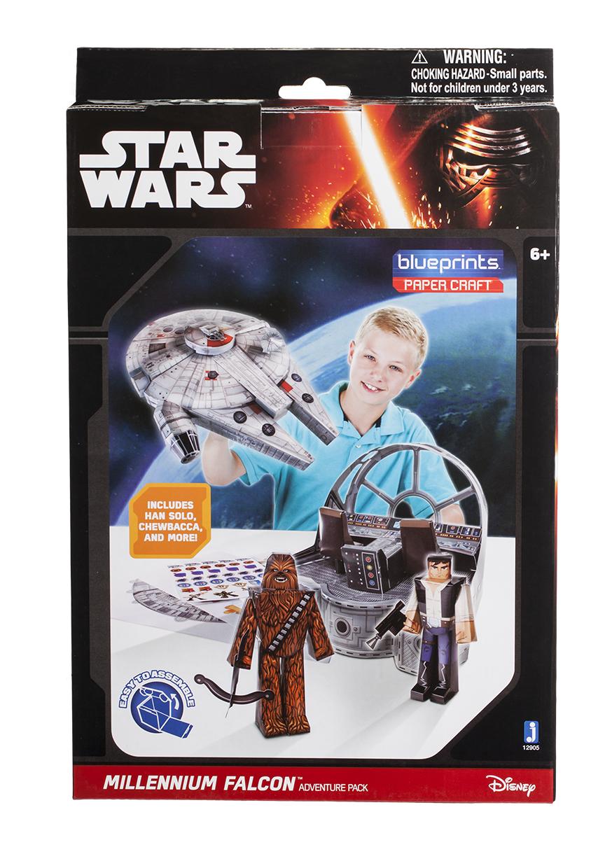 Конструктор из бумаги Star Wars. Millennium Falcon