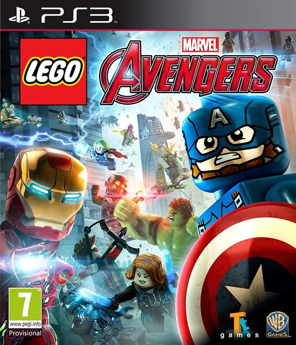 LEGO Marvel Мстители (Avengers) [PS3]