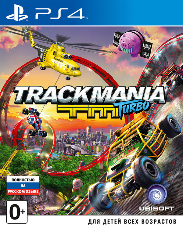 Trackmania Turbo (поддержка VR) [PS4]