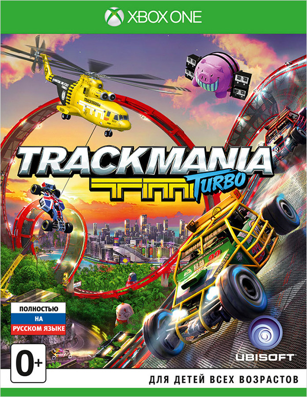 Trackmania Turbo [Xbox One] trackmania turbo цифровая версия