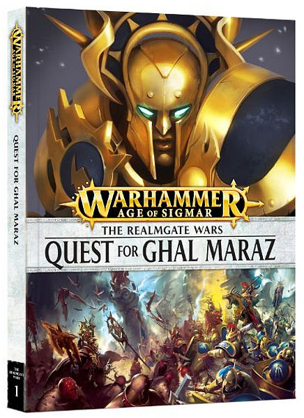 Warhammer. Книга The Realmgate Wars: Quest for Ghal Maraz the quest