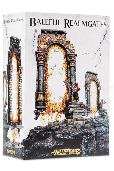 Warhammer. Миниатюра Baleful RealmgatesПредставляем вашему вниманию миниатюру Baleful Realmgates, созданную по мотивам игры Warhammer.<br>